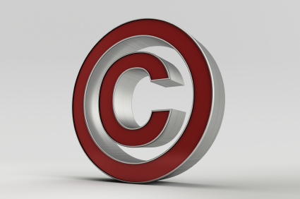 Copyright symbol/intellectuele eigendom
